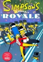 Okładka książki Simpsons Comics Royale praca zbiorowa,Chuck Dixon,Matt Abram Groening