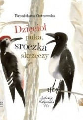 Okładka książki Dzięcioł puka, sroczka skrzeczy Bronisława Ostrowska