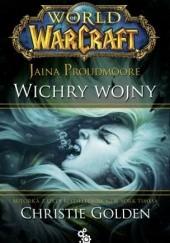 Okładka książki World of Warcraft: Jaina Proudmoore. Wichry wojny