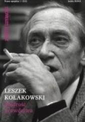 Okładka książki Leszek Kołakowski - Mądrość prawdziwa Leszek Kołakowski
