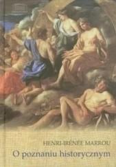 Okładka książki O poznaniu historycznym Henri-Irenee Marrou