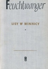 Okładka książki Lisy w winnicy Lion Feuchtwanger