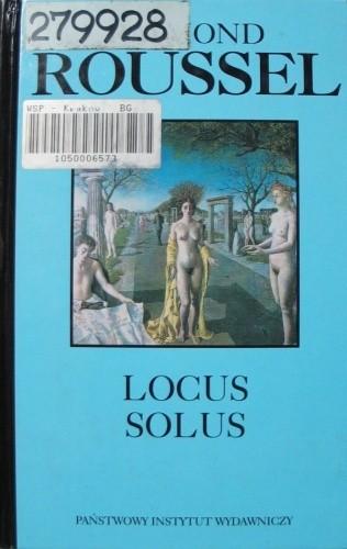 Okładka książki Locus Solus Raymond Roussel