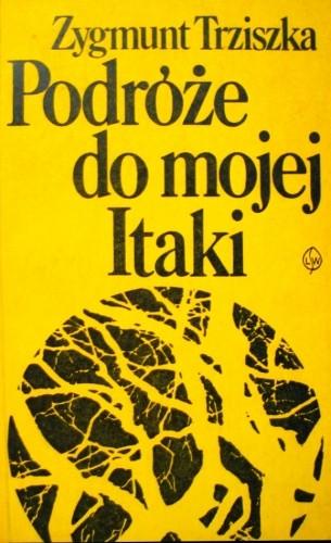 Okładka książki Podróże do mojej Itaki