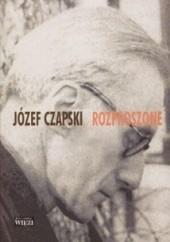 Okładka książki Rozproszone Józef Czapski