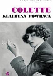 Okładka książki Klaudyna powraca Sidonie-Gabrielle Colette