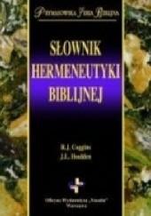 Okładka książki Słownik hermeneutyki biblijnej