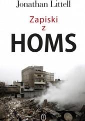 Okładka książki Zapiski z Homs Jonathan Littell