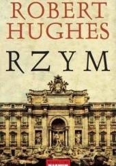 Okładka książki Rzym Robert Hughes