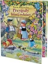Okładka książki Przygody leśnej rodziny Basia Badowska