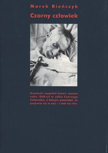 Okładka książki Czarny człowiek Marek Bieńczyk
