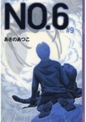 Okładka książki NO.6 #9 Atsuko Asano