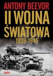 Okładka książki Druga wojna światowa Antony Beevor