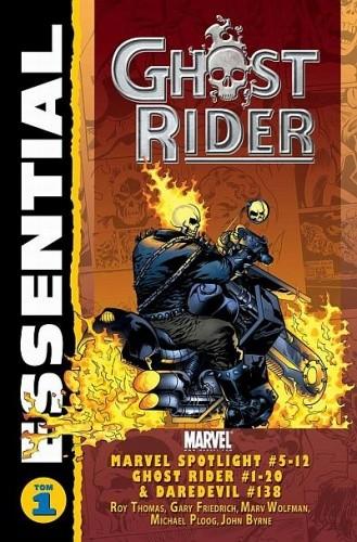 Okładka książki Essential: Ghost Rider #1 Gerry Conway,Jim Mooney,Roy William Thomas Jr.,Len Wein
