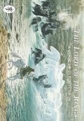 Okładka książki The Lord of the Rings: A Book of 20 Postcards John Howe,Alan Lee,Ted Nasmith,Roger Garland,Cor Blok,Stephen Hickman,David Alter,Lode Claes,Stephen Walsh,Luca Michelucci,David Wyatt