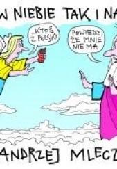 Okładka książki Jako w niebie tak i na ziemi Andrzej Mleczko