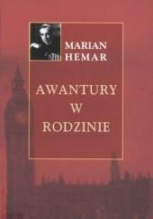 Okładka książki Awantury w rodzinie Marian Hemar
