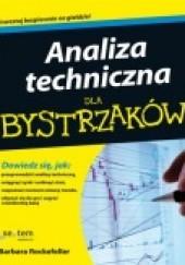 Okładka książki Analiza techniczna dla Bystrzaków Barbara Rockefeller