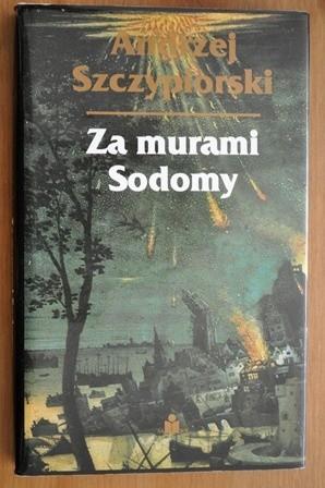 Okładka książki Za murami Sodomy Andrzej Szczypiorski