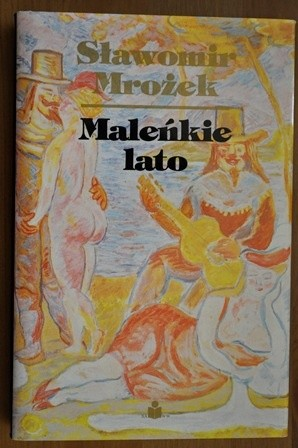 Okładka książki Maleńkie lato Sławomir Mrożek