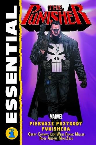 Okładka książki Essential: Punisher #1 Ross Andru,Gerry Conway,Frank Miller
