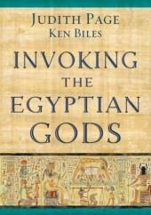 Okładka książki Invoking the Egyptian Gods Judith Page,Ken Biles
