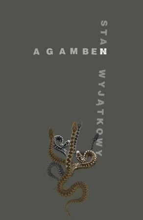Okładka książki Stan Wyjątkowy Giorgio Agamben