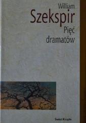 Okładka książki Pięć dramatów William Shakespeare