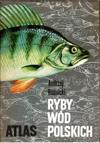 Okładka książki Ryby wód polskich Andrzej Rudnicki