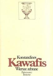 Okładka książki Wiersze zebrane Konstandinos Kawafis
