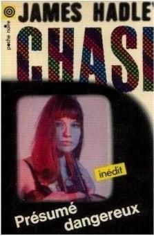 Okładka książki Présumé dangereux James Hadley Chase