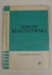 Okładka książki Miron Białoszewski Stanisław Burkot