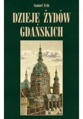 Okładka książki Dzieje Żydów gdańskich Samuel Echt