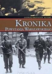 Okładka książki Kronika Powstania Warszawskiego Andrzej Krzysztof Kunert