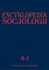 Okładka książki Encyklopedia Socjologii, t. 1 praca zbiorowa