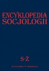 Okładka książki Encyklopedia Socjologii, t.4 praca zbiorowa