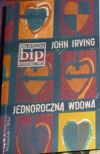 Okładka książki Jednoroczna wdowa John Irving