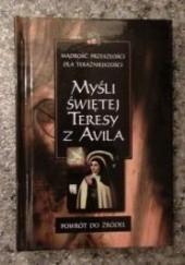 Okładka książki Myśli Świętej Teresy z Avila