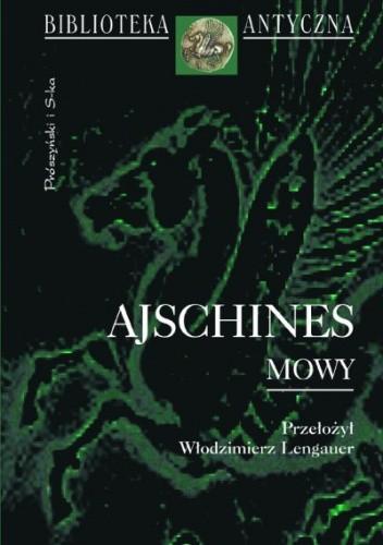 Okładka książki Mowy Ajschines