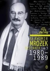 Okładka książki Dziennik tom 3 1980-1989 Sławomir Mrożek