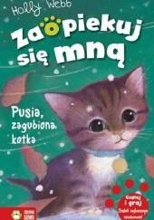 Okładka książki Pusia, zagubiona kotka Holly Webb