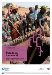 Okładka książki Świadomi i pomocni. W stronę odpowiedzialnej turystyki. Przykłady z Nigru i Sierra Leone Sylwia Kulczyk,Agnieszka Bajtyngier