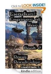 Okładka książki Exodus: Empires at War: Book 2 Doug Dandridge