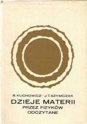 Okładka książki Dzieje Materii przez fizyków odczytane