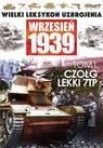 Okładka książki Czołg lekki 7TP Paweł Rozdżestwieński