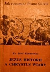 Okładka książki Jezus historii a Chrystus wiary