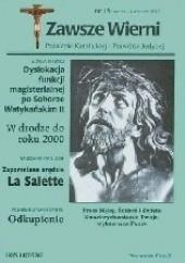 Okładka książki Zawsze wierni, marzec-kwiecień 1997 Redakcja pisma Zawsze wierni