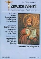 Okładka książki Zawsze wierni, lipiec-sierpień 1997 Redakcja pisma Zawsze wierni
