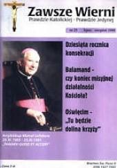 Okładka książki Zawsze wierni, lipiec-sierpień 1998 Redakcja pisma Zawsze wierni