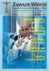 Okładka książki Zawsze wierni, styczeń-luty 2000 Redakcja pisma Zawsze wierni